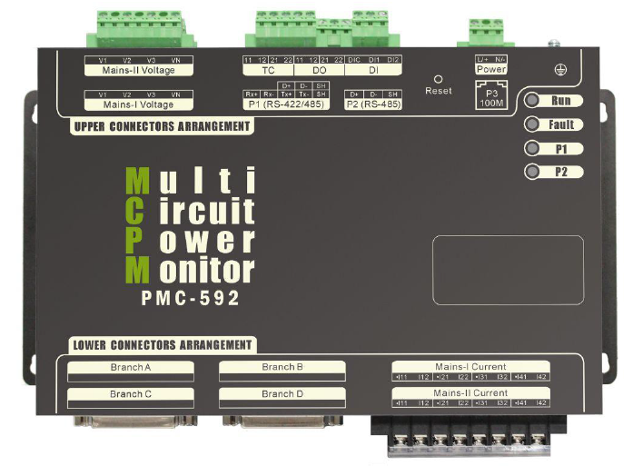 PMC 592 Data Centre Energy Meter