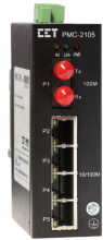 Industrial Fibre Ethernet Converter: PMC-2105 from CETA Meters